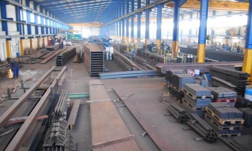 Fábrica estruturas metálicas