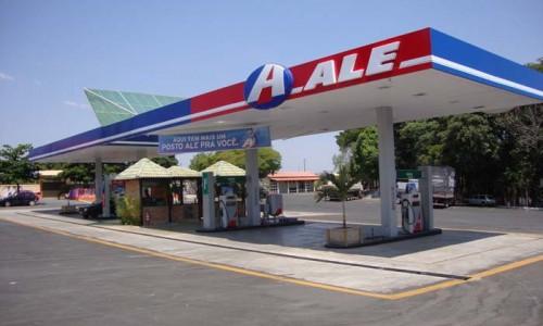 Cobertura de posto de gasolina