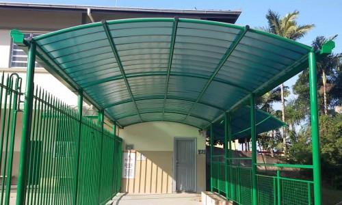 Estrutura metálica para garagem preço