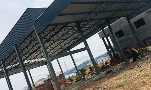 Preço m2 estrutura metálica telhado