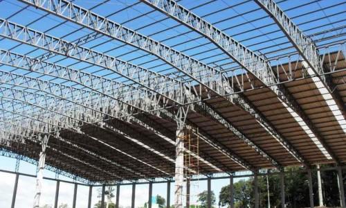 Estrutura de aço para telhado preço